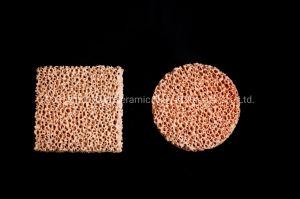 Filtre en mousse en céramique de zircone