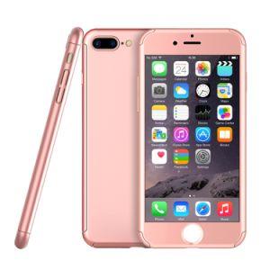 iPhone 7のケース360の二重層のゴム製プラスチックハイブリッド電話箱のための卸し売り製品