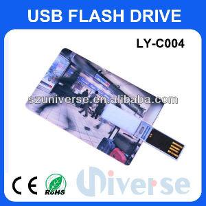 Custom оптовые цены на 2 Гбайт выделяется на USB флэш-диск USB кредитной карты Memory Stick™