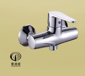 Oudinuoのクロムが付いている単一のハンドルの洗面器の蛇口及びコックの&Bibcockは67411をめっきした