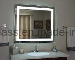 Reino Unido en la pared con retroiluminación LED iluminado espejo del baño
