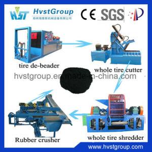 機械をリサイクルするタイヤのシュレッダーの無駄のタイヤ