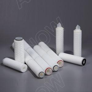 Filtri pieghettati dalla cartuccia del polipropilene di alta efficienza (pp)