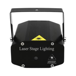 Navidad Single-Head Laser Discoteca Verde iluminación de escenarios