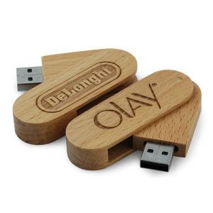 Древесина флэш-накопитель USB