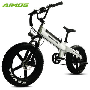 20 polegada 14ah Motor Mag 48V 500W Fat bicicleta eléctrica