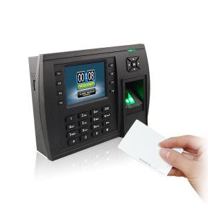3.5インチTFTのTCP/IP RS232/485 USBとのマルチメディア指紋の時間出席