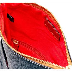 Design de Marcas famosas Pebble PU Cruz Fabricante de sacos de Corpo