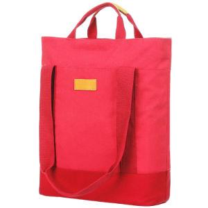 流行の赤いコンピュータのメッセンジャーの例の袖袋のバックパックのハンドバッグ(FRT3-380)