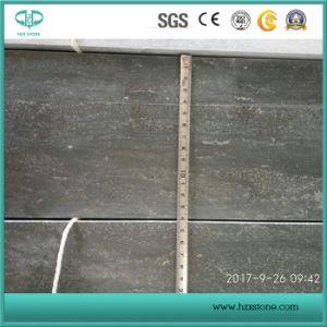 壁のクラッディングのための中国の砥石で研がれた青い石灰岩または胆ばんのタイルかフロアーリングまたは舗装
