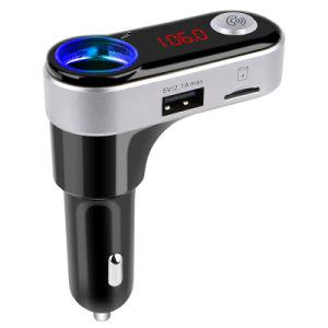 Trasmettitore Hands-Free di Bluetooth FM del giocatore di MP3 dell'automobile del visualizzatore digitale del LED