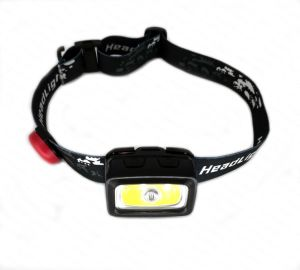 赤い警告を用いる緊急LEDの帽子のヘッドライト