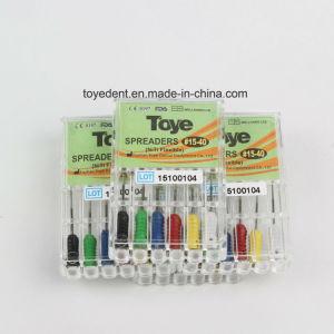 Facile à utiliser les épandeurs Niti dentaire Endo manuel de fichiers de mémoire