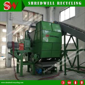 Полностью автоматическая лом шины/дерева/металл/пластик шинковки машины для переработки