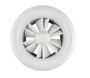 VACの換気装置の調節可能な円形の壁の天井の渦巻の空気拡散器