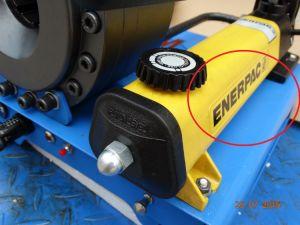 Portable manuale macchina di piegatura del tubo flessibile idraulico da 1 pollice