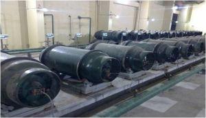 Het industriële Gas van het Chloride van de Waterstof van de Rang