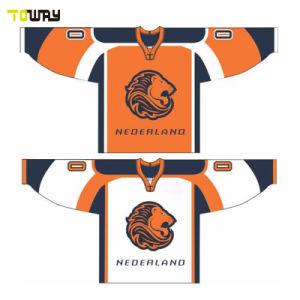 Sublimación personalizado barata Camiseta de Hockey sobre Hielo de la Juventud