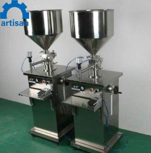 電気機械を満たす手動ソースジュースのオリーブ油の充填機