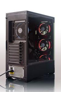 Nuovo caso di gioco del calcolatore del PC di arrivo ATX con due vetri