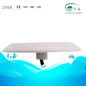 Один цвет сверхтонкий светодиодный индикатор под водой бассейн освещение