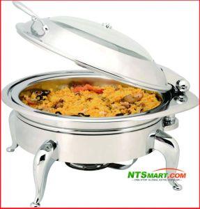 De Ketel van de soep met Benen, het Verwarmingstoestel van het Voedsel van de Catering van het Restaurant, Chafing Schotel