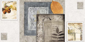 安い価格によって艶をかけられる陶磁器の壁のタイル