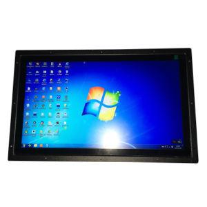 Barramento de LCD de 15 polegadas de tela sensível ao toque do monitor Industrial de TV