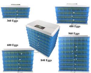 Volle automatische das Geflügel Egg des neuen Entwurfs-2018 Inkubator Maschine ausbrütend