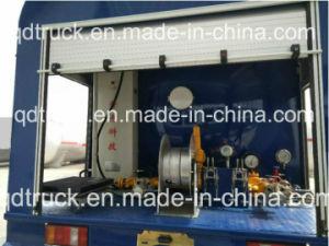 Del depósito de gas carretillas con boquilla de dispensación, 10m3 carretilla recarga de gas