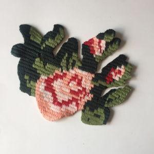 Distintivo animale speciale della zona del ricamo del fiore degli accessori dell'indumento