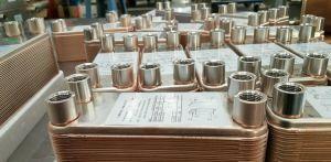 304ステンレス鋼のろう付けされた版の熱交換器の価格