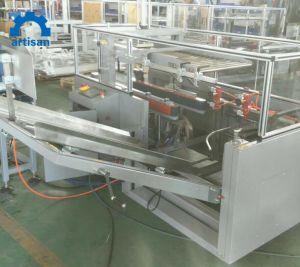 Unidad en torno automático caja de cartón de embalaje plegable Máquina selladora