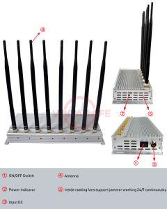 Blocker CDMA/GSM/3G2100MHz/4glte Cellphone/Wi-Fi/Bluetooth, de Mobiele Stoorzenders van het Signaal van de Telefoon van de cel van het Signaal van de Telefoon