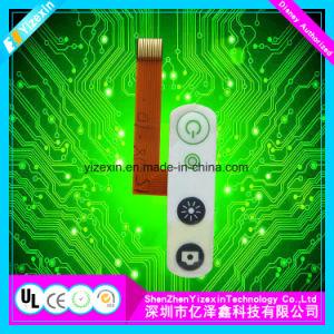 돔에 의하여 돋을새김되는 키보드 3m 접착제를 가진 표준 막 키패드
