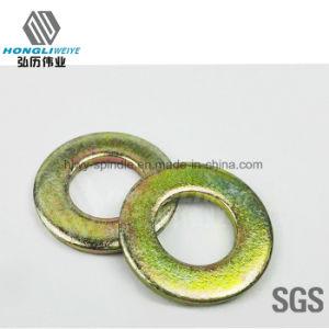 Plaqué zinc en acier au carbone de la rondelle plate Rondelle plate