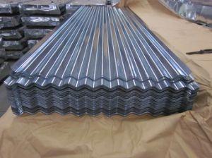 Strato d'acciaio ondulato galvanizzato del tetto verniciato galvalume