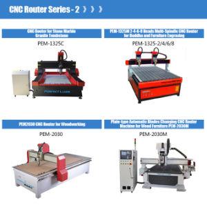 Eje de cambio automático de cuatro hojas de metal de la máquina Router CNC