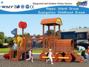Os brinquedos para exterior Série Pipeline equipamentos de playground Hf-18302 Comercial
