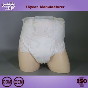 China Hospital desechables Distribuidor de guardias de 3D de la superficie seca protección contra fugas de pañales para adultos mayores