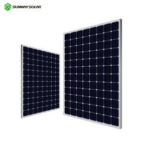 Un grado de OEM Marco negro alto W 36V 5BB Mono 330W a 340W a 350 Vatios Panel Solar de 370W a 500W