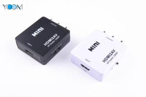 Mini portable Convertisseur HDMI 1080p à AV