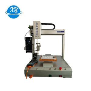 点ポイントスライドのはんだのための中国のブランドの自動錫のはんだ付けする機械