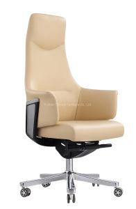 2019 New-Style Ocio moderna y confortable silla de oficina ejecutiva de cuero auténtico