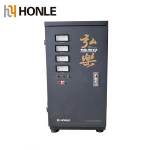 Tns Honle trifásico serie 9kVA automático estabilizador de voltaje de CA