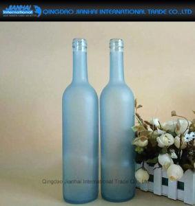 ワインおよびアルコール飲料のためのカスタム容器の霜のガラスビン