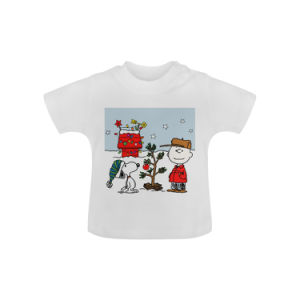 642847c0f جديات رسم متحرّك [ت] قميص [ببي بوودر] عضويّة قصيرة كم عالة طبق أطفال ملابس