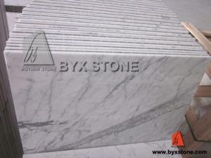Bianco Carrara Statuario Marbre Composite Panneau / Carrelage À Base De Porcelaine