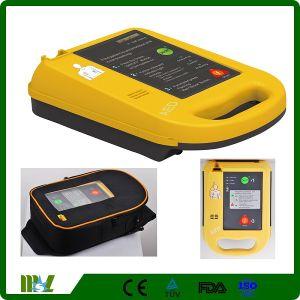 Amaestrador externo automático simple del AED del Defibrillator del uso de Pubilc