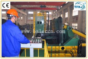 Hidráulico de alta eficiencia de la chatarra de hierro de acero de la empacadora de cizallamiento de aluminio para automóvil